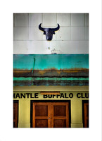 BUFFALO CLUB -  available for purchase on fine art German Etching paper