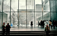 MOMA in the Snow