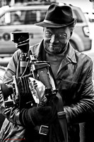 Louis Mendes, legendary NYC street photographer